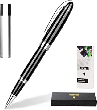 Smooth Diamond Ball Point Pen in Silver Luxury Ladies Professional Pen