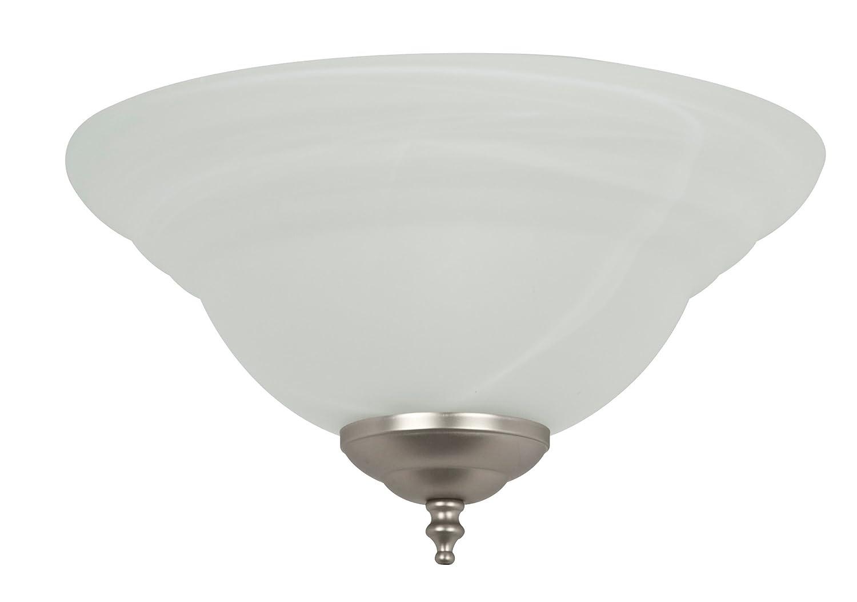 コンコードファンy-261 a-es-s-03 Lightkit 2 – 13 W gu24ライトアラバスターガラスボウルEnergy Star定格ファンライトキット   B004EIU68K