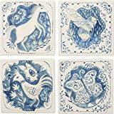 Primitives By Kathy Coaster Set - Animals