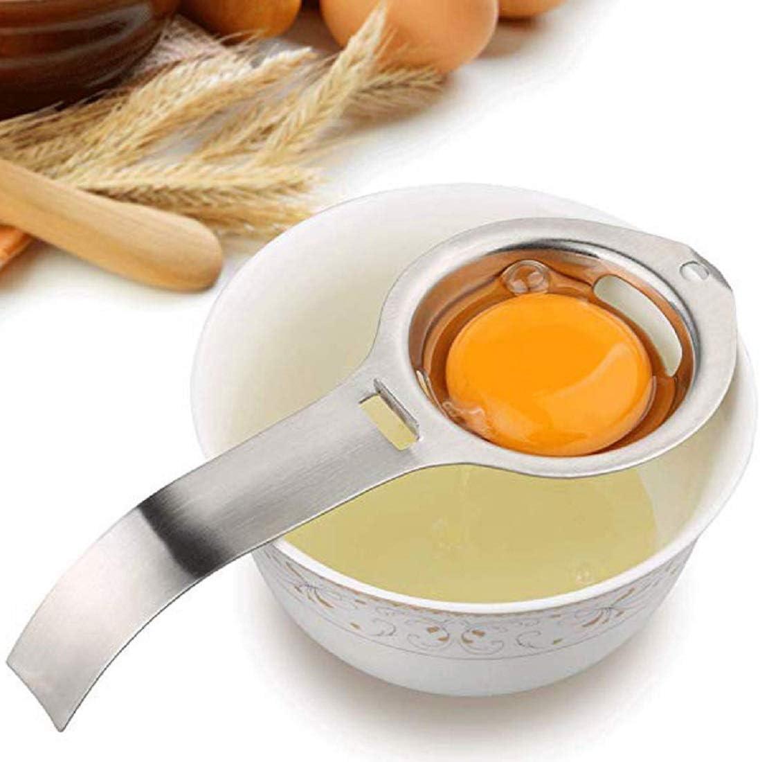 Tierform Yolk Divider Egg Extractor F/ür K/üche Frosch Silikon-Ei-Separator Squeeze Zonfer 1pc Squeezy-Ei-Separator