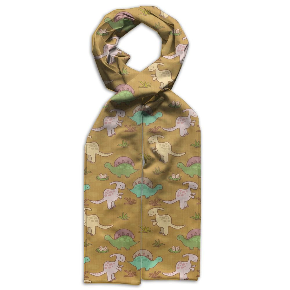 Colorful Cute Dinosaur Printing Scarf Warm Soft Fashion Scarf Shawl For Kids Boys Girls