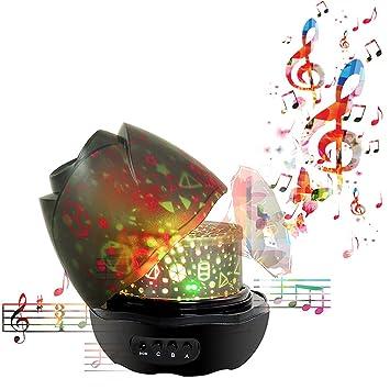 Amazon.com: nasus Música noche Proyector, Nuevas Animal del ...