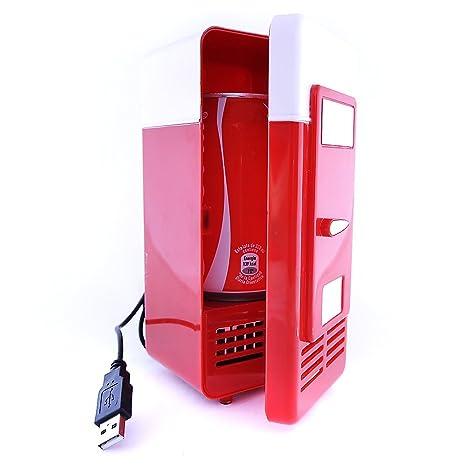 Mini Nevera USB Refrigerador Calentador Pequeño Frigorífico para ...