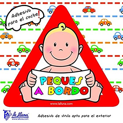 'Précisions - Enfant Bébé à Bord peques. Triangle autocollant pour la voiture Bébés & Puériculture