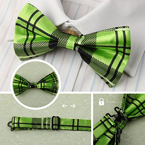 DBF0184 Excellent Bow Ties For Business Pre-tied Bow Ties - 5pc Luxury For Party By Dan Smith by Dan Smith (Image #4)