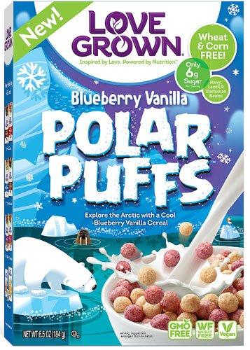 Love Grown Foods Polar Puffs? Blueberry Vanilla -- 6.5 oz - 2 - Puff Polar