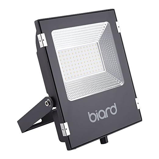 Biard Faro Foco Proyector Extra Plano LED de Seguridad IP65 Negro ...