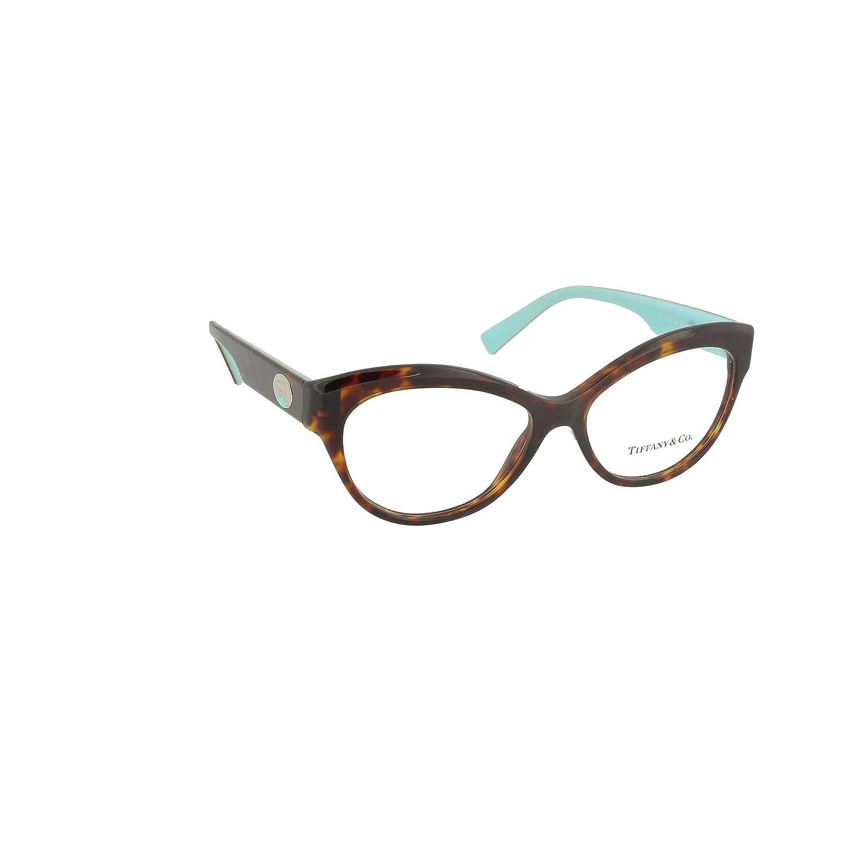 d791ae5204a8 Tiffany RETURN TO TIFFANY COLOR SPLASH TF 2176 HAVANA 53 15 140 women  eyewear frame at Amazon Men s Clothing store