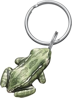 product image for DANFORTH - Bull Frog Green Keyring - Pewter - 1 3/4 Inches - Handcrafted - Made in USA