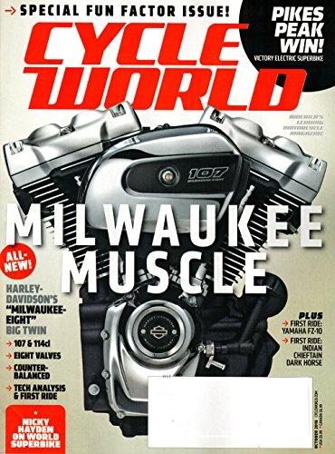 Cycle World Magazine October 2016 | Milwaukee ()