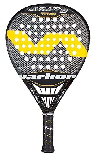 Varlion Avant H Difusor Titan - Pala de pádel, Unisex Adulto, Amarillo, 365-370 gr.: Amazon.es: Deportes y aire libre