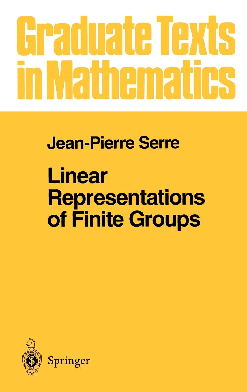 Linear Representations Of Finite Groups  Graduate Texts In Mathematics  42  Band 42