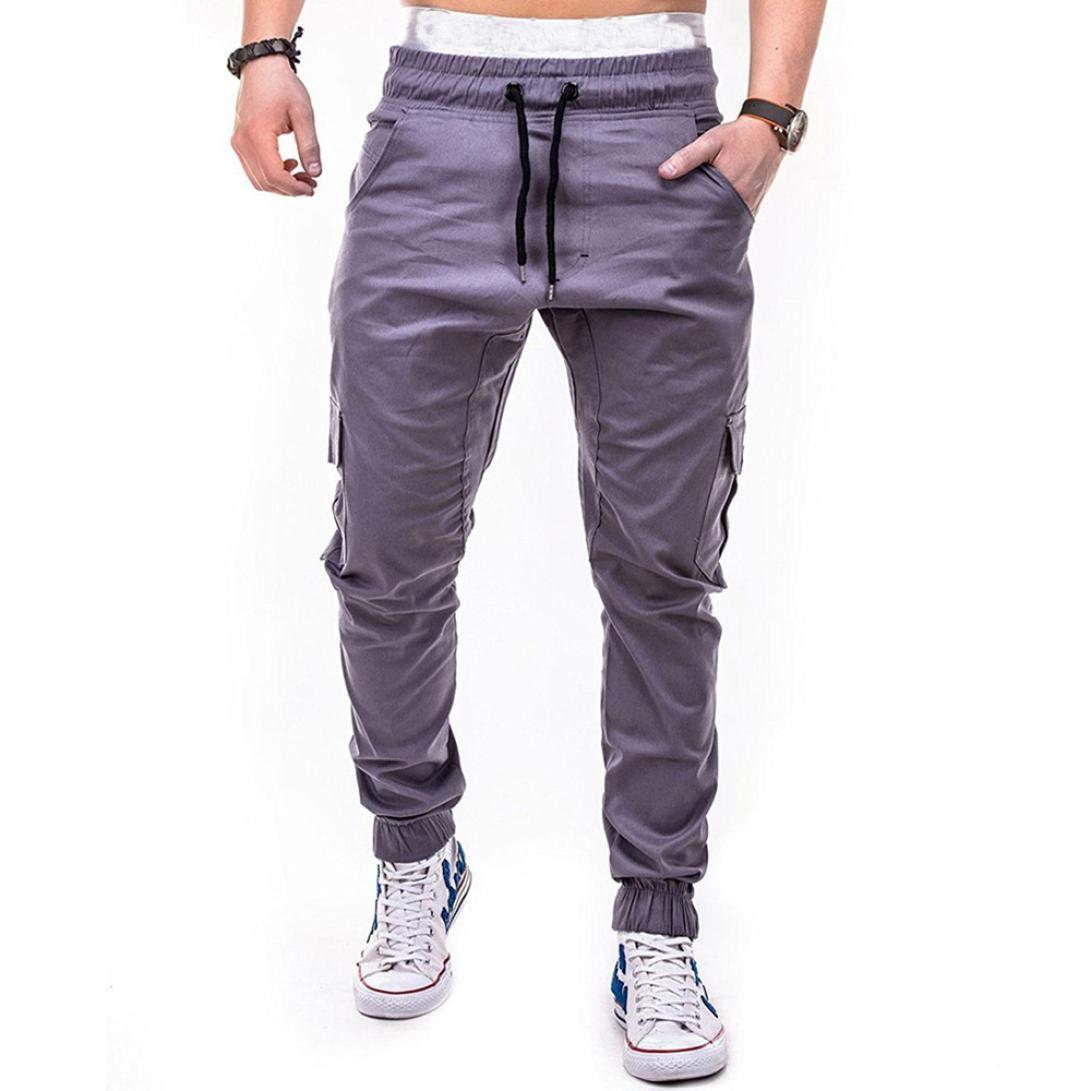 超大特価 Pervobs Mens Pant Pant PANTS メンズ グレー B07G73N9WQ メンズ グレー XX-Large, えびすブックス:778f5152 --- diceanalytics.pk