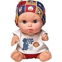 Juegaterapia Muñeco Baby Pelón, Diseñado por Disney, Juguete Solidario con Olor a Vainilla-20 x 10 x 20cm, color ARIAS S…