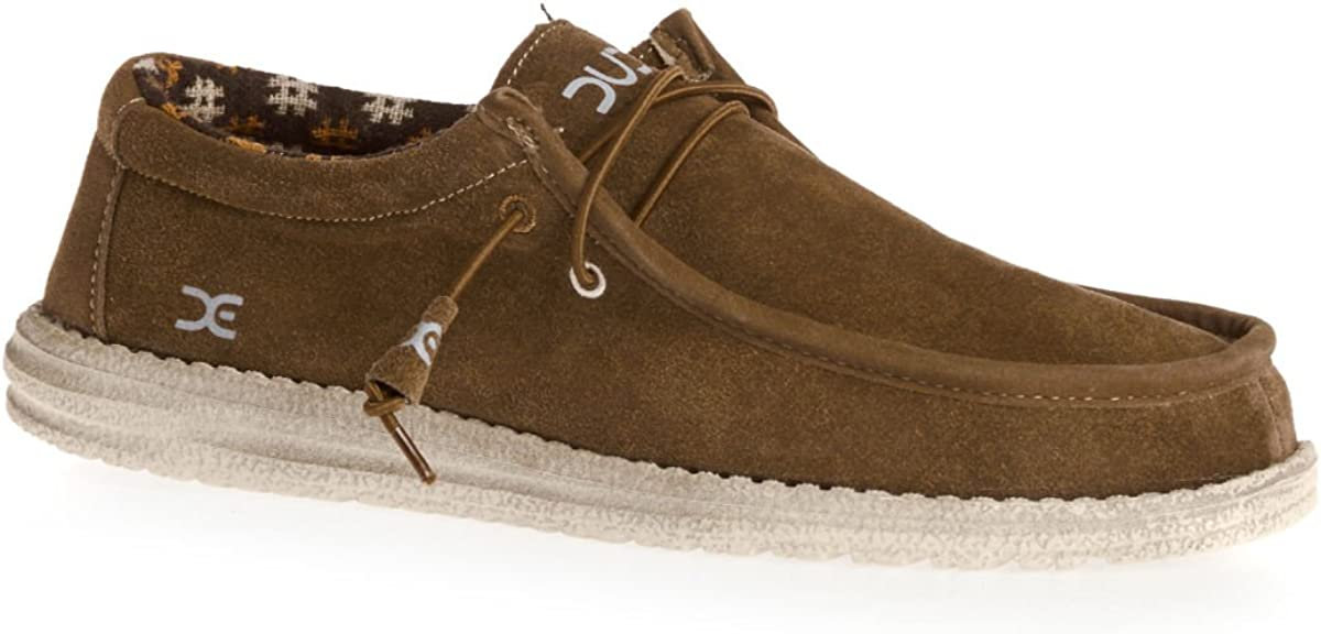 Dude Shoes Men's Wally Winter Suede Nut