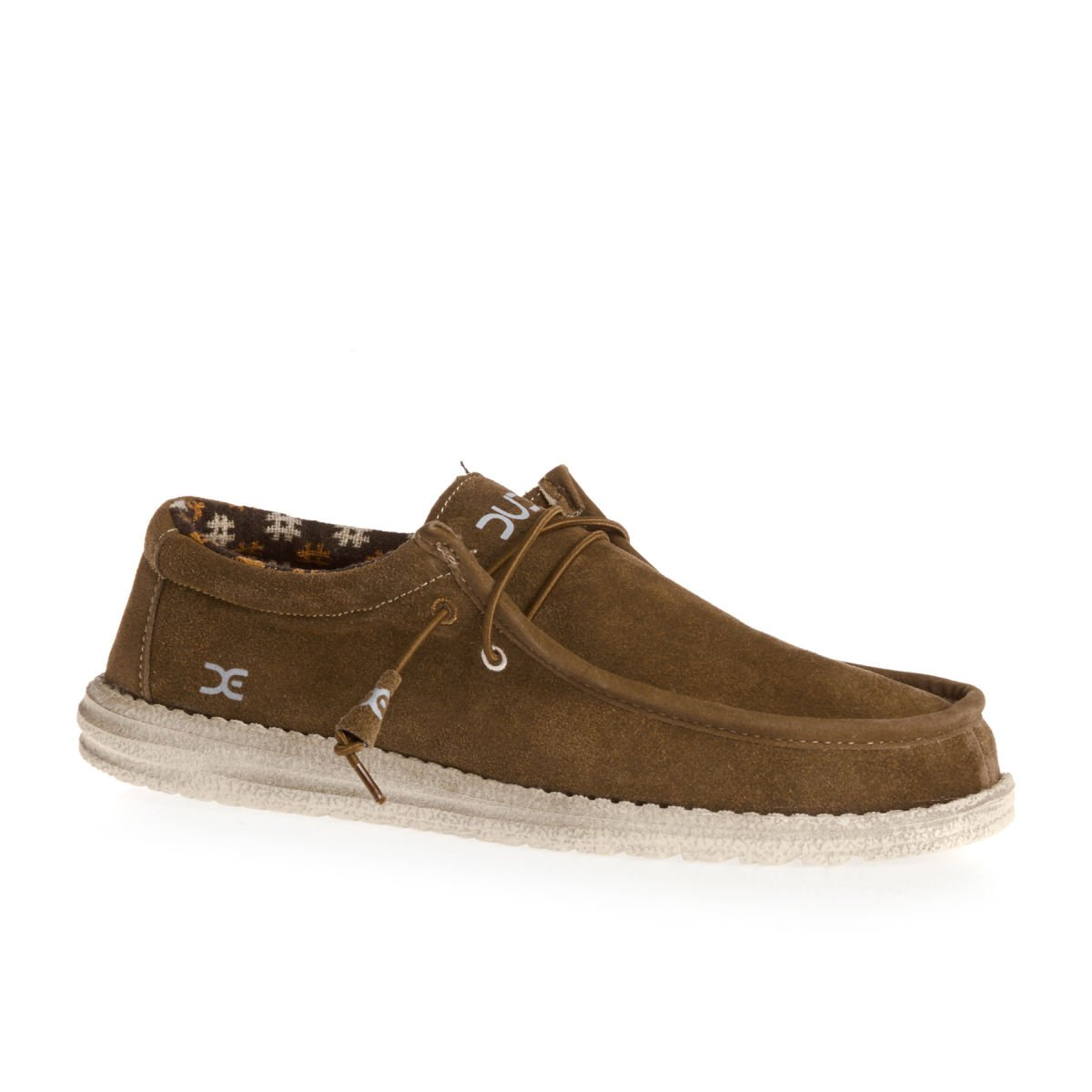 TALLA 41 EU. Dude Shoes Men's Wally Winter Suede Nut