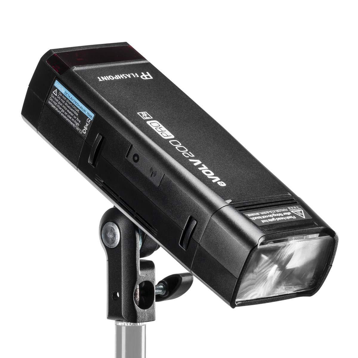 Flashpoint eVOLV 200 Pro TTL Pocket Flash with Barndoor Kit