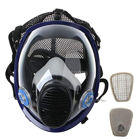 Painting Face Full Facepiece Kit For Gas Respirator Xineker Mask