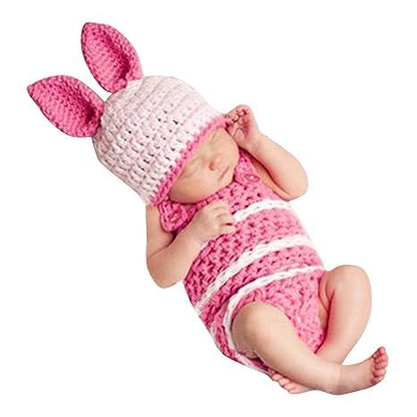 e2117402f Smarstar - 2 pcs Ropa Traje de Fotos para Bebés Recién Nacidos 3-6 Meses