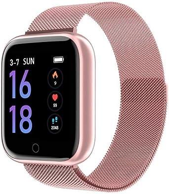 Reloj Inteligente a Prueba de Agua para Mujer T80 Bluetooth ...
