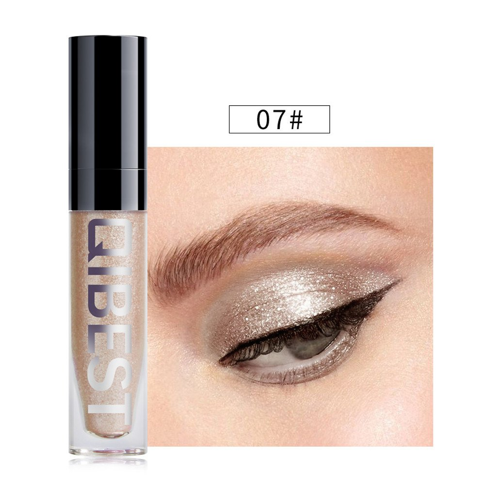 Tantisy ♣↭♣ Fashion Women's Makeups Metallic Shiny Smoky Eye Eyeshadow Waterproof Glitter Liquid Eyeliner 8 Colors by Tantisy ♣↭♣ (Image #2)