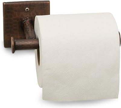 Antique Copper Monarch Abode 17088 Hand Hammered Copper Toilet Paper Holder