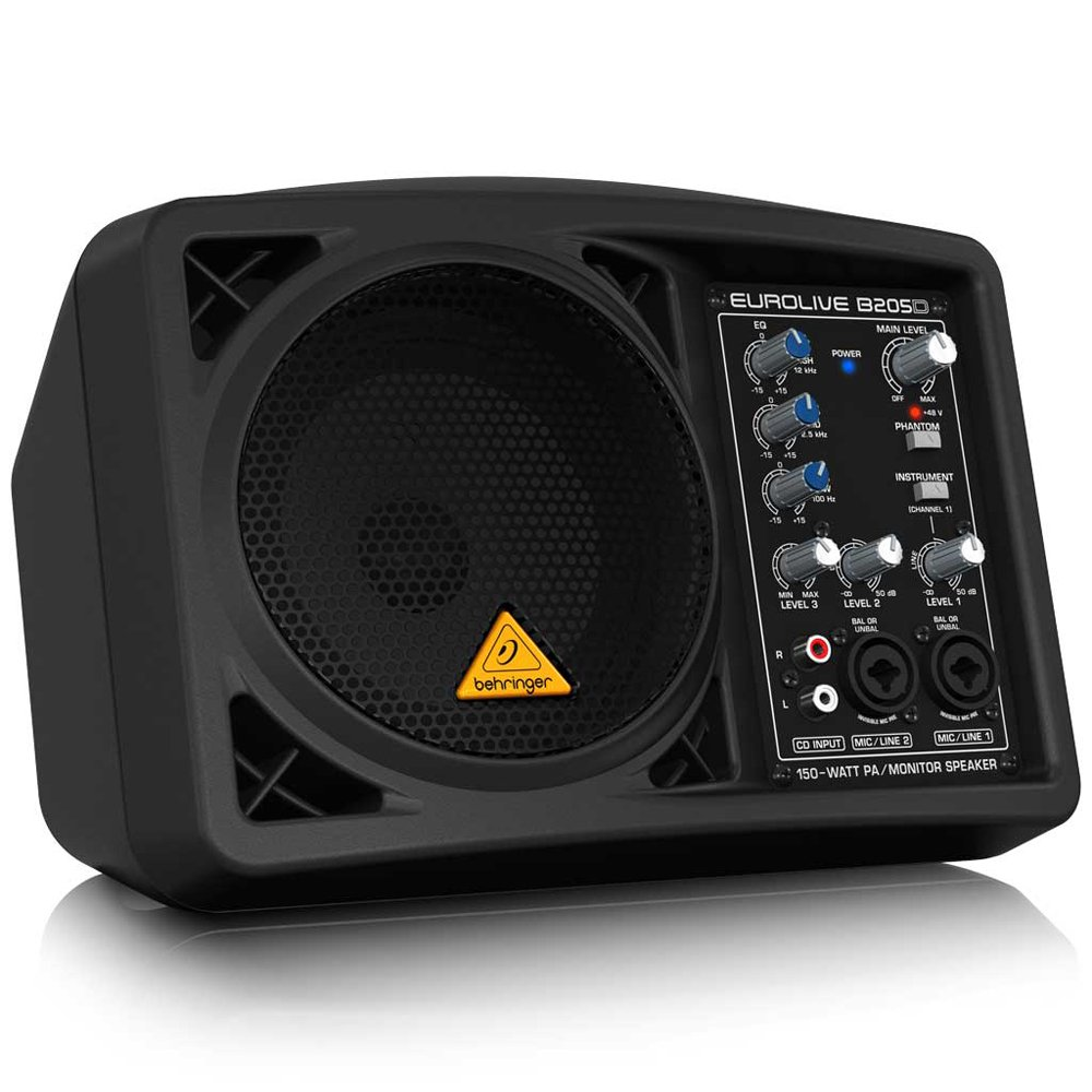 Behringer Eurolive B205D Ultra-Compact 150-Watt PA/Monitor Speaker System by Behringer (Image #4)