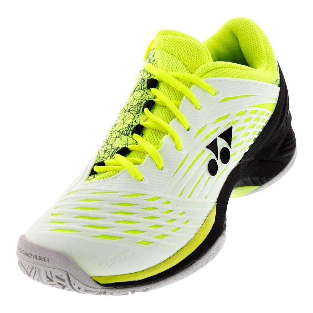 Yonex Power Cushion Fusion Rev 2 Men's Tennis Shoes - White/yellow