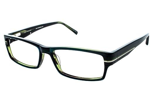 Amazon.com: Ted Baker óptico de la anteojos b834 Medianoche ...