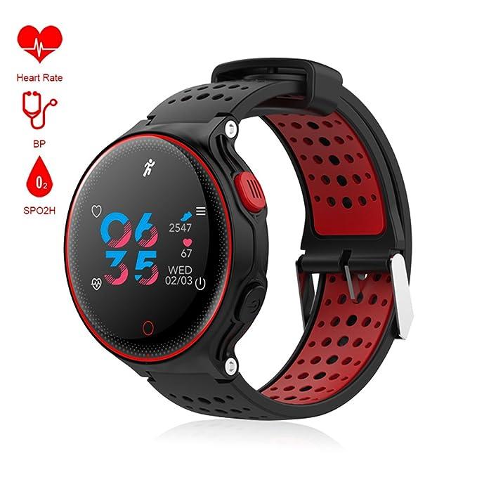 "Amazon.com: Bugear Bluetooth Smartwatch,1.04"" Color Screen ..."