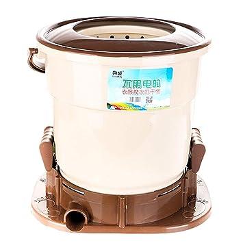 AZWE Máquina para deshidratar la ropa manualmente No es necesario ...