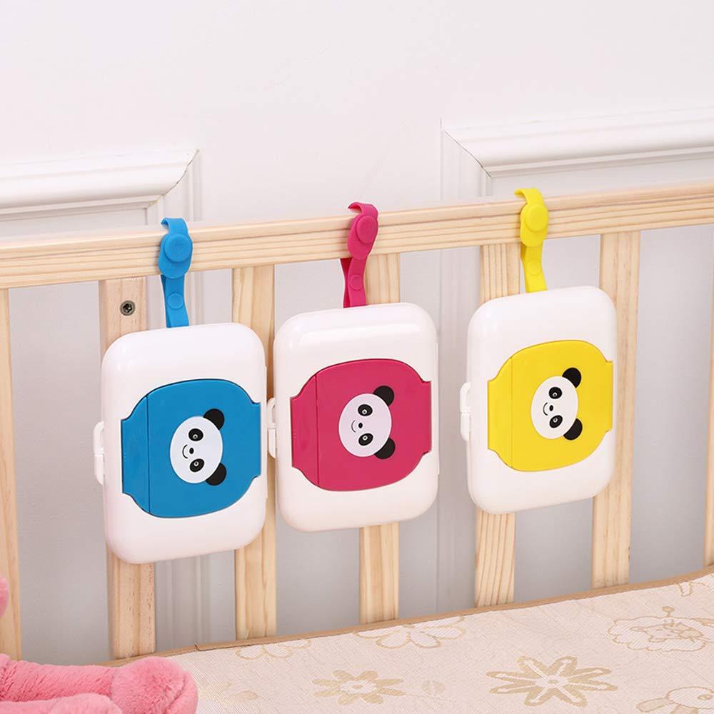 Ogquaton /Baby Wipes Dispenser Box Travel Tragbare Feuchttuchkoffer wei/ßer Panda Praktisch
