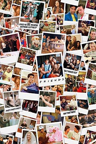 POSTER STOP ONLINE Friends - TV Show Poster/Print (Polaroids) (Size: 24