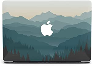 Nature Mountain Forest Protective case Compatible with Apple MacBook Mac Air Pro 13 12 15 16 13.3 inch Retina Cover SN13 (Air 13