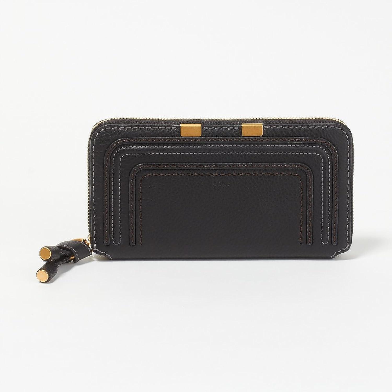 (クロエ) CHLOE 財布 長財布 3P0571-161-001 BLACK 【MARCIE:】 [並行輸入品] B07DMT3GXV