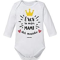 """Body Bebé Mamá""""Eres La Mejor Mami Del Mundo"""""""