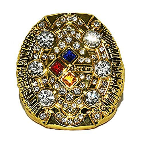 2008 Pittsburgh Steelers Super Bowl NFL Football World Championship Rings (Gold)