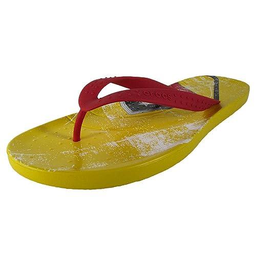 1c86de0bcf234 Crocs Mens Chawaii Germany Flip Flops Shoes