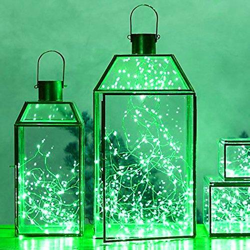 Small Green Led Lights - 8