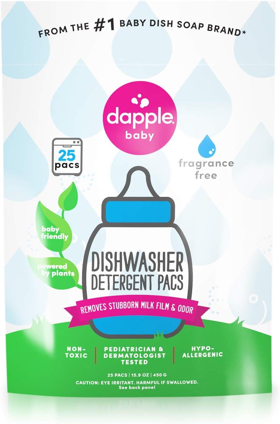 DAPPLE Baby Dishwasher Pacs