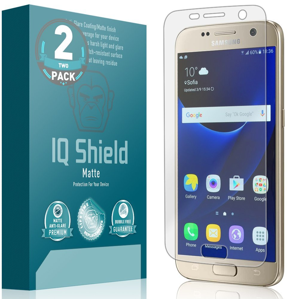 Film Protector Mate IQSHIELD p/ Samsung S7 Pack x 2