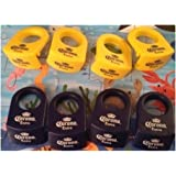 Coronita Bottle Holders (Corona Rita) 4 Yellow and 4 Blue
