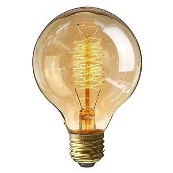 Kingso E27 Edison Ampoules A Incandescence G80 60w 220v Globe Lampe