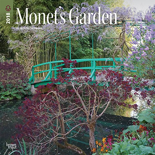 Blackwell Outdoor Wall (Monet's Garden 2018 12 x 12 Inch Monthly Square Wall Calendar, Impressionism Art Artist Outdoor (Multilingual Edition))