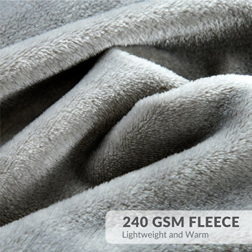 Bedsure Flannel Fleece Luxury Blanket Blankets Throws