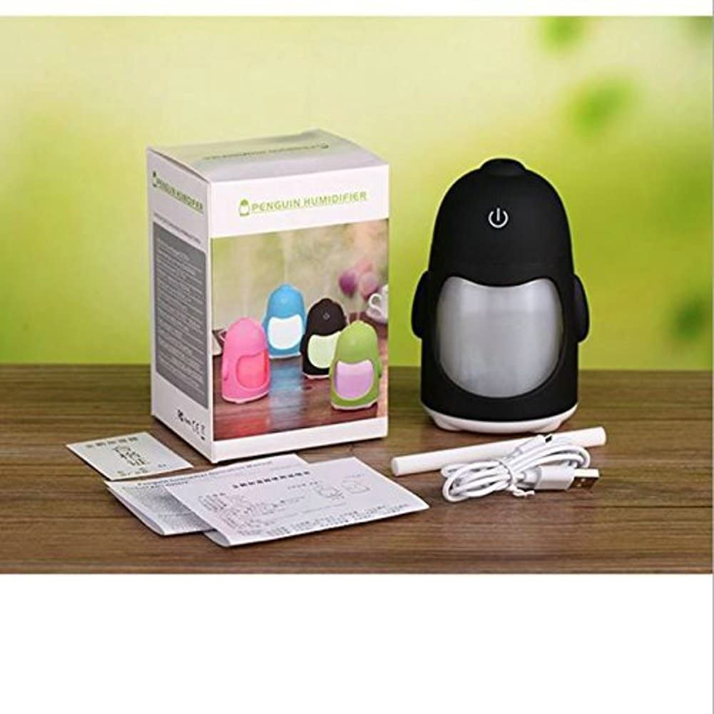 Mini humidificador (Portable USB pingüino humidificador ...