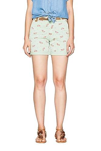 ESPRIT 067ee1c005u, Pantalones Cortos para Mujer