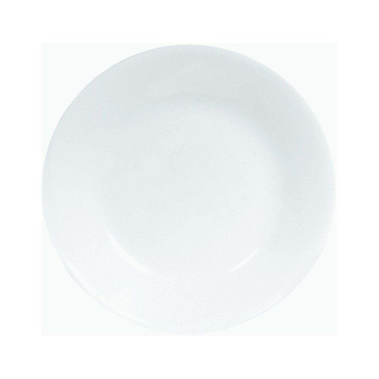 Corelle Brilliant Black Beads Plates White Bread & Butter 6-3/4