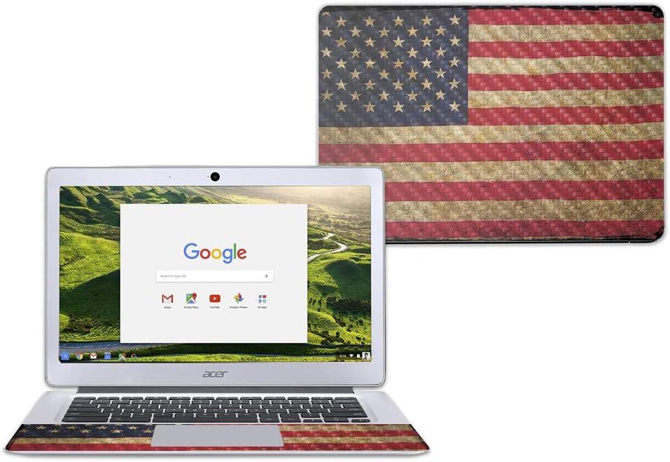MightySkins Carbon Fiber Skin for Acer Chromebook 14