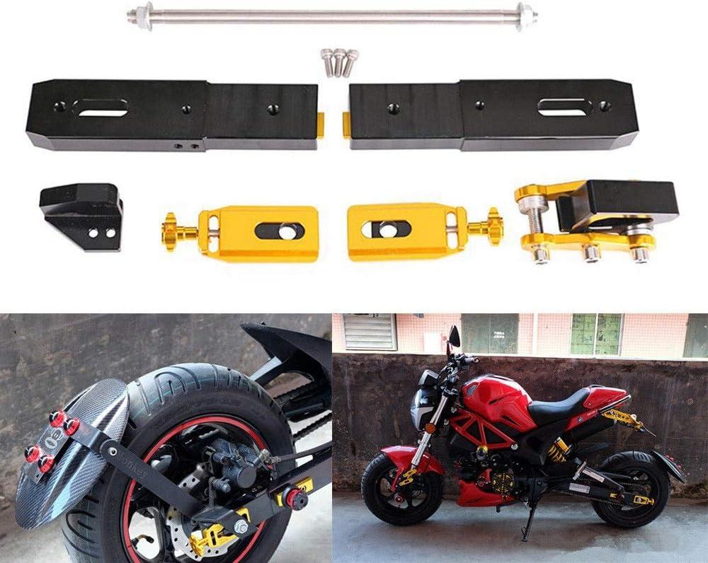MeterMall Car Motorcycle High Strength Rear Fork Extension Stretch Kit for Honda GROM MSX125